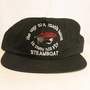 Steamboat Springs Colorado Mens Hat  Fly Fishing